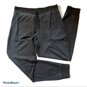 John Varvatos Blue/Black Sweatpants Joggers Medium